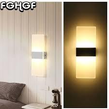 lumiere pour chambre fghgf acrylique appliques le led lumière pour chambre couloir