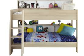 Charlie Storage Bunk Bed Acacia  White Ireland - Harvey norman bunk beds