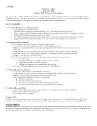 Resident Assistant Job Description Resume 10 Best Images Of Resident Assistant Cover Letter Sample College
