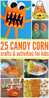 25 exciting candy corn crafts and activities for kids