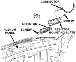 solved 1998 dodge grand caravan blower motor resistor fixya