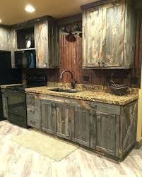 distressed wood kitchen cabinets reclaimed wood cabinet door homely idea distressed cabinets creating