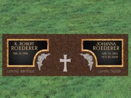 Flat Grave Markers With Vase Images Bronze Flat Markers Monuments U0026 Markers Monuments