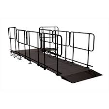 steps wheelchair equipment ramps guard rails chair stops