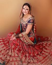 Bridle Dress Latest Colours Combination Of Wedding Dresses Of Pakistani Brides