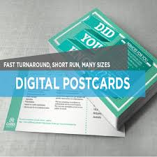 Short Run Business Cards Digital Postcards And Rack Cards