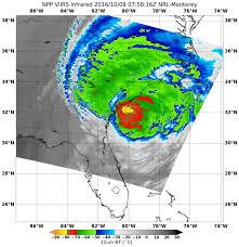 South Carolina Beaches Map See Hurricane Matthew U0027s Center Near Coastal South Carolina