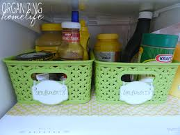 how to make your fridge look like a cabinet organizing your fridge and a fridge coasters giveaway organize
