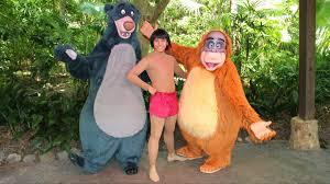 mowgli baloo u0026 king louie rare surprise meet disney u0027s animal