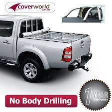 ford ranger covers no drill rollback tonneau cover ford ranger px dual cab ute