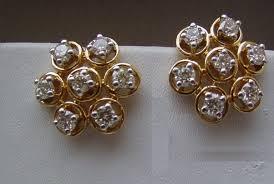 diamond earrings india how much would 99 diamond earrings vs hi cost in india as