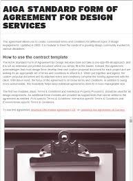 Interior Design Services Contract by Design Contract Template Website Design Contract Template Tips