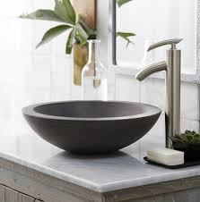 Silver Bathroom Sink Bathroom Artisan Sinks Soapstone Vessel Sink Unusual Bathroom