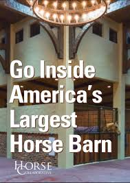 there is nothing wrong with your horse barn it does everything a