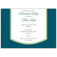 retirement invitation wording band retirement dinner blue invitations paperstyle
