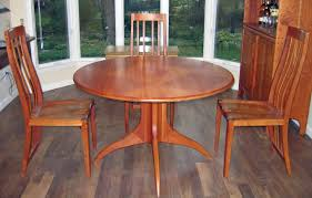 plain decoration round cherry dining table pleasant design slate