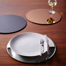 Table Setting Chargers - stylish chargers for a festive table