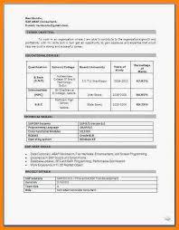 Resume Format Download Doc File 7 Resume Format Doc File Free Download Forklift Resume
