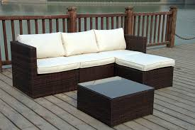 Rattan Settee New Rattan Wicker Conservatory Outdoor Garden Furniture Set Corner