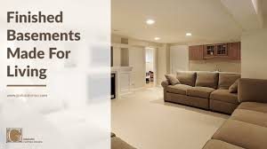 finished basements made for living by gialluisi custom homes youtube