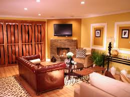 Southwest Living Room Ideas by Living Room Ideas With Brick Fireplace And Tv Home Bar