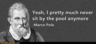 Marco Meme - funny pictures weirdnutdaily marco polo hates the pool