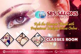 rule the glamour world with professional makeup classes online