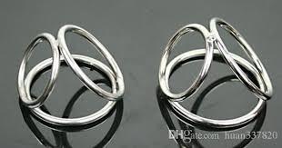 metal ball rings images Hot stainless steel penis metal cock ring 3 rings ball testicles jpg