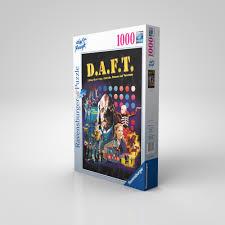 limited edition d a f t ravensburger puzzle daft créme la