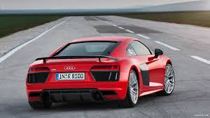 red audi r8 wallpaper 2016 audi r8 v10 plus dynamit red rear hd wallpaper 10