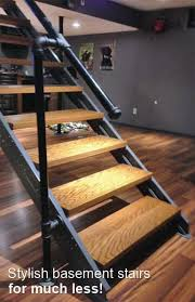 Staircase Banister Kits Stylish Beach Stairs For Much Less Stair Kits Stairs