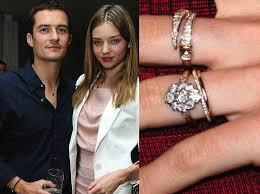 orlando wedding band miranda kerr s engagement ring from orlando bloom