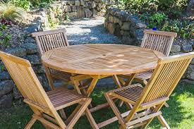 Folding Patio Table And Chair Set Gorgeous Folding Outdoor Table And Chairs Teak Garden Table And