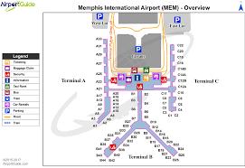 Memphis Map Memphis Memphis International Mem Airport Terminal Maps