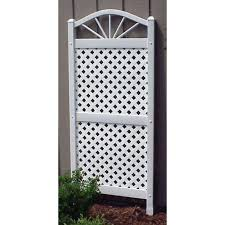 whites trellis arbors u0026 trellises garden center the home depot