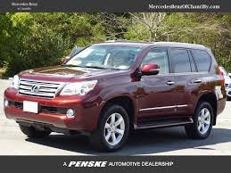 lexus used gx 460 2012 used lexus gx 460 at mercedes benz of chantilly serving