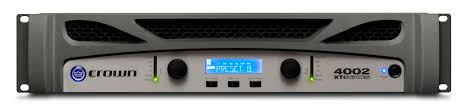 xti 4002 crown audio professional power amplifiers