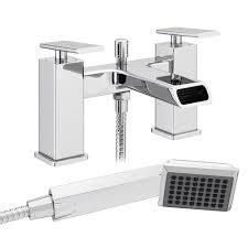 flare modern bath shower mixer tap shower kit at victorian