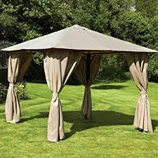 gazebo heavy duty venice heavy duty 3m x 3m square gazebo co uk garden