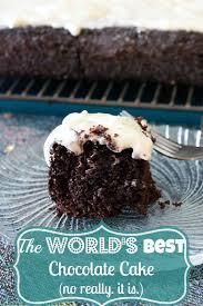 chocolate cake and cream cheese frosting recipe chocolate cake