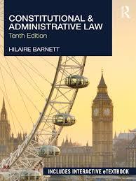 hilaire barnett constitutional u0026 administrative law 10th edition