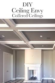 how to build a coffered ceiling ceilings tutorials and trim board
