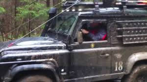 land rover defender svx land rover defender svx 90 off road october 2013 youtube