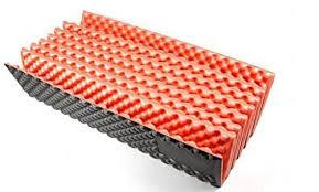 outdoor hiking mountaineering foam camping mat sleeping pad in