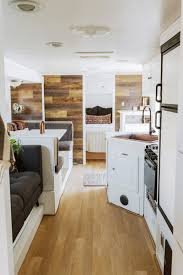 this is the winnhaven a renovated 30 ft travel trailer by wander