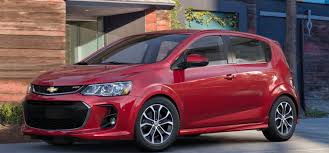 what color options are available for the 2017 chevy sonic