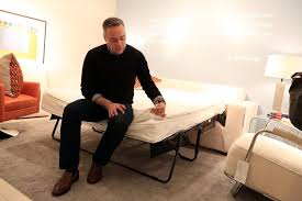 Mitchell Gold Sleeper Sofa Shopping For Sleeper Sofas The New York Times