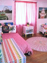 Girls Pink Rug Pink Rug Above White Floor White Teenage Bedroom Color Red Purple