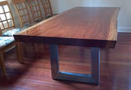 slab dining room table custom dining room tables sets thesoundlapse com