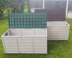Waterproof Outdoor Cushion Storage Bag by Garden Storage Box Waterproof Storage Boxes Ebay